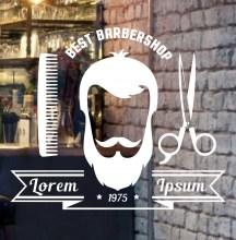customized-trendy-haircut-style-logo