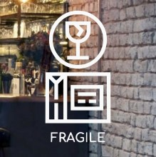 fragile-beautiful-front-door-glass-logo
