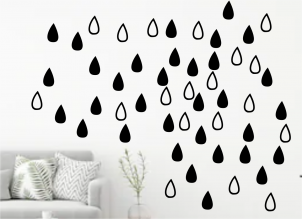 wall-decal-two-pattern-rain-drops
